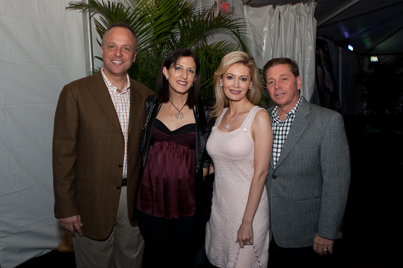 VIP Guests attend the Russian National Orchestra performance with the Stars of the American Ballet Theatre – Irina Dvorovenko & Maxim Beloserkovsky, conducted by Constantine Kitsopoulos  at the fourth annual Festival of the Arts BOCA in Boca Raton, Florida.