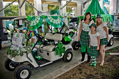 2012 FOTA Boca and City of Boca Raton First Annual St. Patrick's Day Golf Cart Parade and Celebration