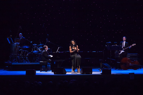 2013 Festival of the Arts BOCA presents Audra McDonald whith her trio Andy Einhorn, Piano, Mark Vanderpool, Bass and Gene Lewin, Drums