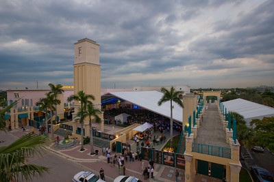 Venue Scenes of The Count de Hoernle Amphitheater, Mizner Park at the Festival of the Arts BOCA 2008