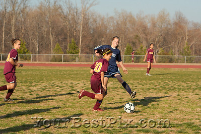Girls Falcons vs  Crestdale0007