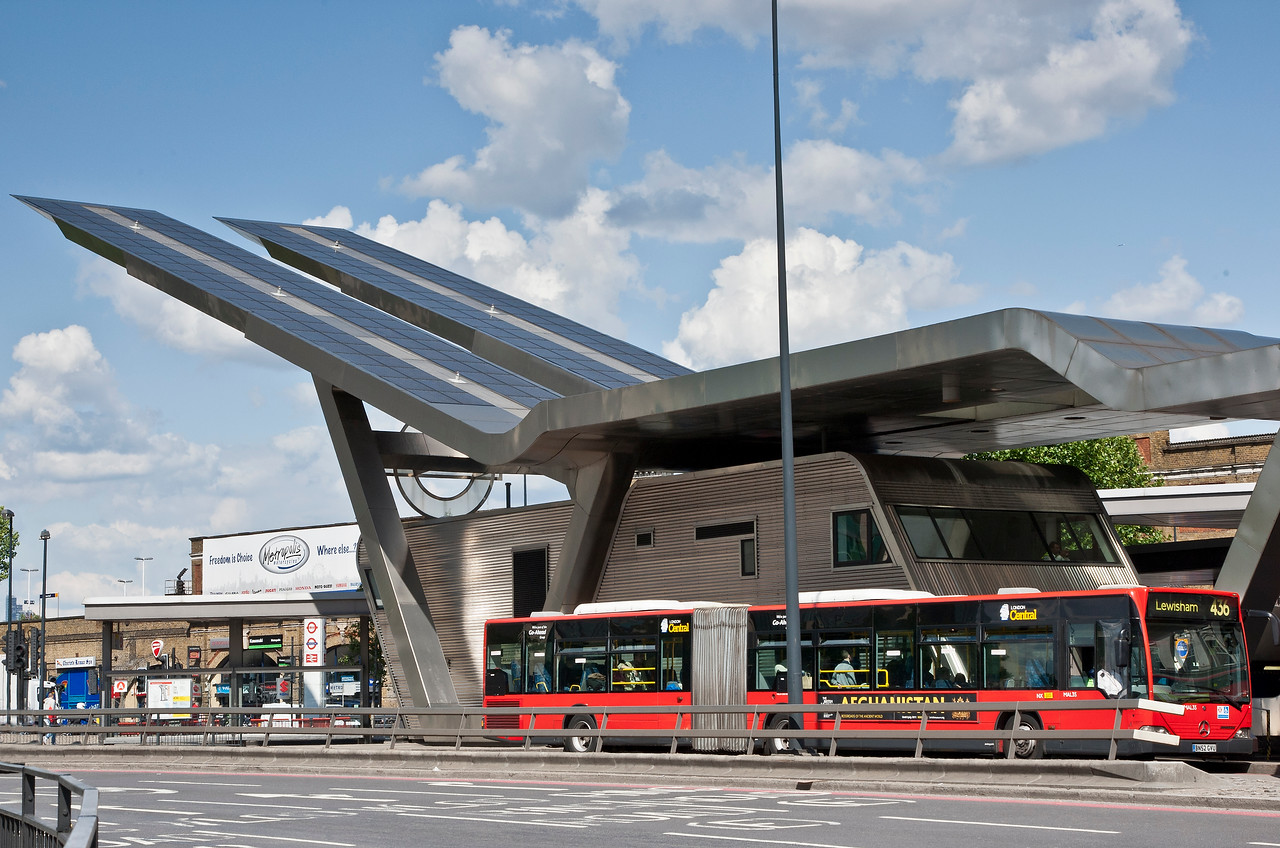 The Bus Centre at Vauxhall in South London