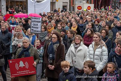 nederland 2020, groningen, onderwijsdemonstratie