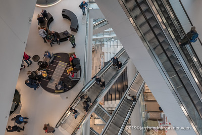 nederland 2019, groningen centrum, forum groningen testdag