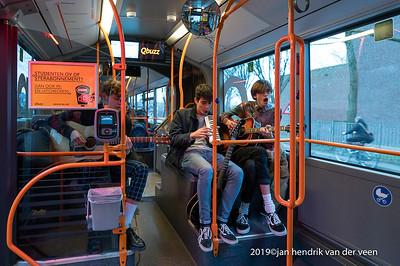 nederland 2020, groningen, eurosonic noorderslag, bussessie them dirty dimes