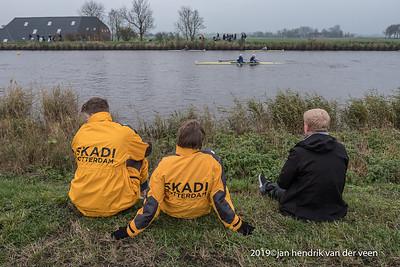nederland 2019, groningen, eemskanaal, 24e editie hel van het noorden