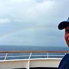 yet another Rainbow off the coast of Corfu, Greece