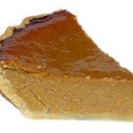 Tofu Pumpkin Pie<br /> <br /> 10 oz Soft Silken Tofu, blended in a blender until smooth<br /> 1 16-oz Can pumpkin<br /> ¾ Cup Granulated Sugar<br /> ½ tsp Salt<br /> 1 tsp Ground Cinnamon<br /> ½ tsp Ground Ginger<br /> ¼ tsp Ground Cloves<br /> 1 9-inch unbaked pie shell<br /> <br /> Preheat oven to 425.  Cream together the pumpkin and sugar.  Add salt, spices and blended tofu, mixing until thoroughly blended together.  Pour into pie shell.  Bake at 425 for 15 minutes.  Lower the heat to 350 and bake for an additional 40 minutes.