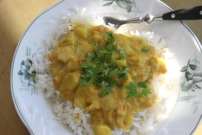 180617 Pineapple  Chickun Curry
