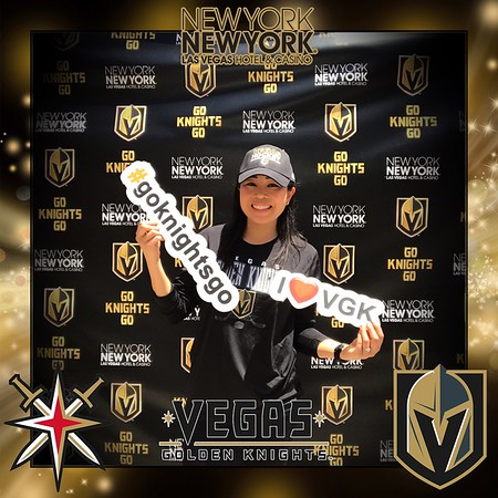 Vegas Golden Knights Stanley Cup Fan Zone at NYNY