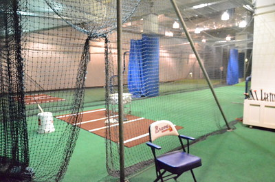 Atlanta Braves Batting Cages and Tunnels
