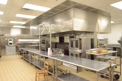 Greek Ballroom Kitchen