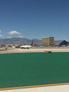 Landing at vegas