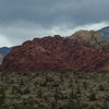 driving to red rock