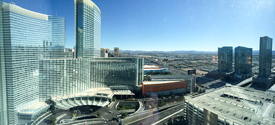 The view from our room at Vdara