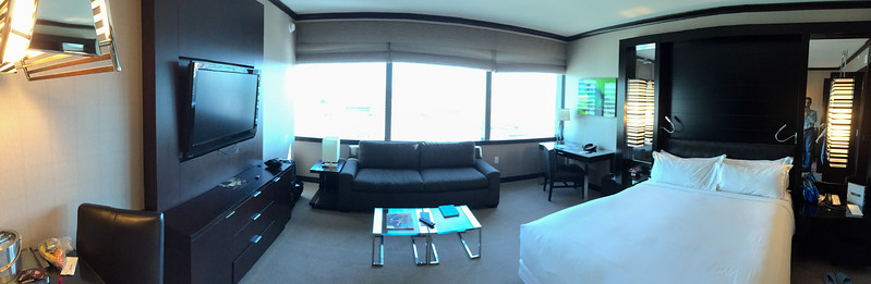 Our room at Vdara
