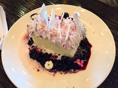 Tres Leches cake at border grille.   Our favourite