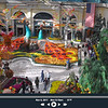 On the Bellagio conservatory webcam. The Bellagio Conservatory done up for fall.