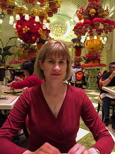 At the Wynn prior to Tony Bennett.  Dinner at the buffet.