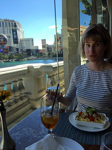Lago at Bellagio for Sunday Brunch.