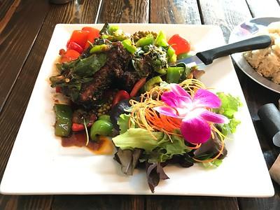 Seaweed-Wrapped Tofu Stiry Fry - Kati Thai