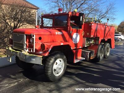 M35 2.5 Ton Fire Truck