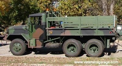 M274 2.5 Ton Auger Truck