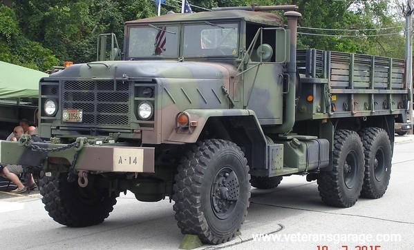 M923 5 Ton Troop Transport