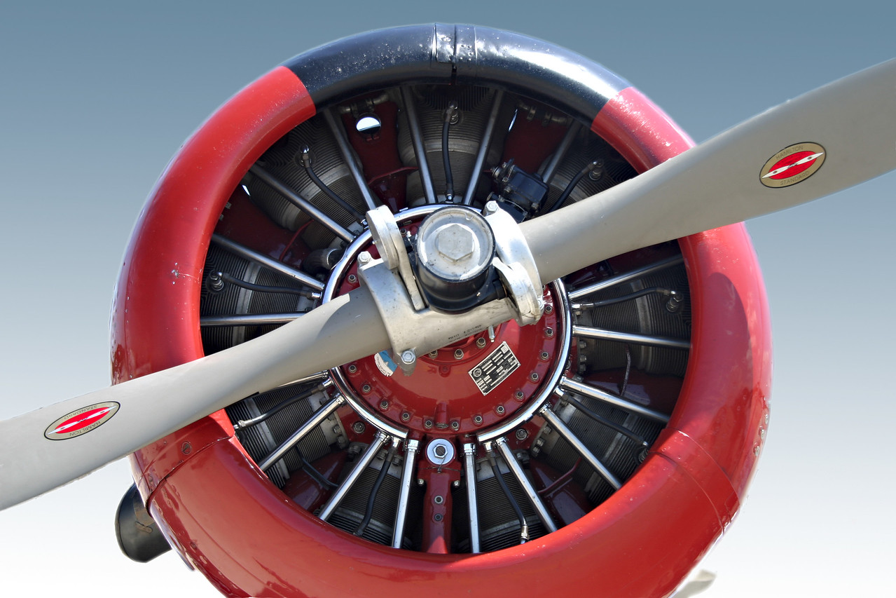 red nacelle