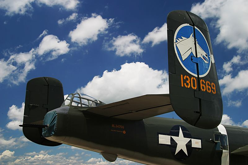 B-25 r rear tail boom 0487_edited