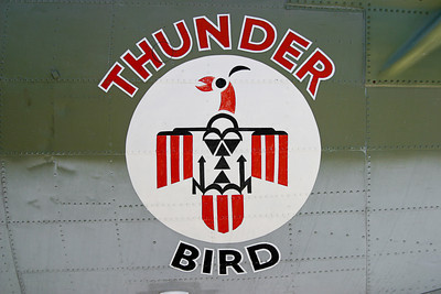 Thunder Bird nose art IMG_0422