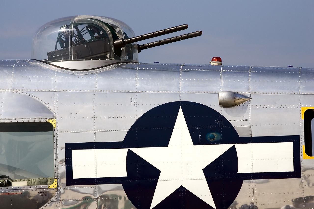 B-25 Mitchell  top gunner