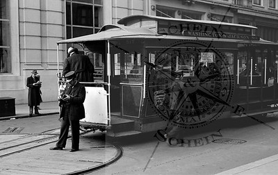 Cable Car Turnaround at Powell and Market