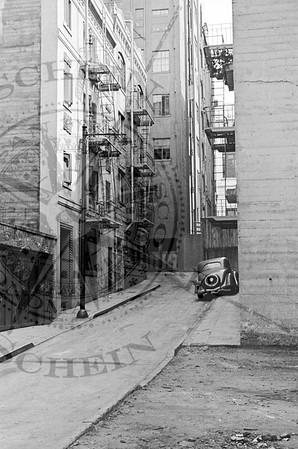 Brooklyn Alley off Sacramento St