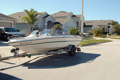 1993 Four Winns 19' Bowrider, Owned from 2003-2005