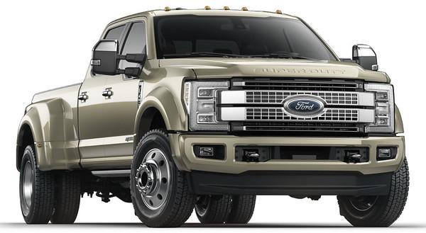 2017 Ford F450 Platinum