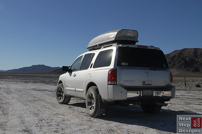 The Armada has been a wonderful family adventure-mobile and has taken us to many interesting places, including the Mojave Trail
