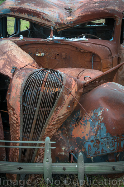 Junked Jalopy - July 2013<br /> (2x3)<br /> Best Reproduction - No Larger Than 12x18