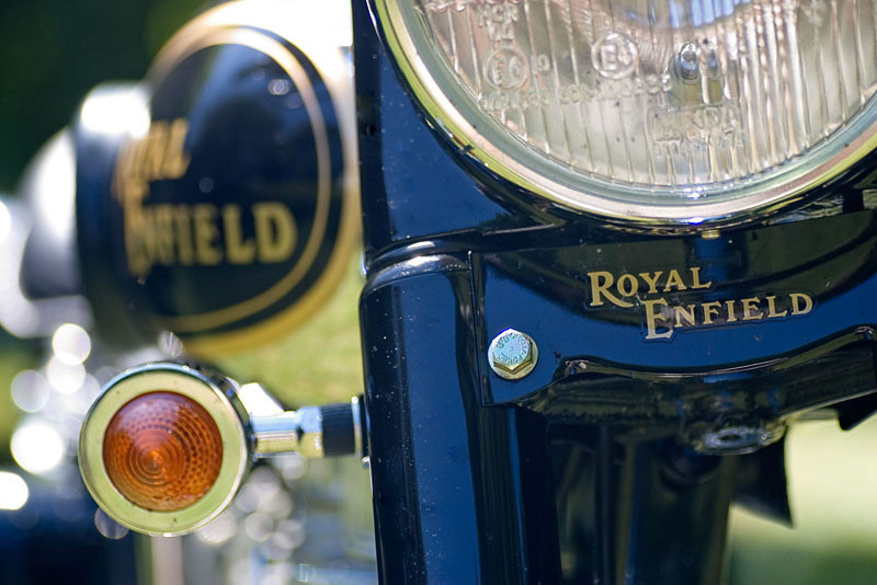 Royal Enfield - front detail