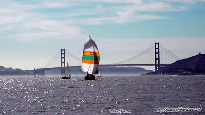 San Francisco sail boat