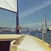 Sailing in the Alameda Estuary