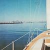 Exiting Alameda Estuary into San Francisco Bay 1975
