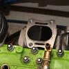 Exhaust header - six more bolts.