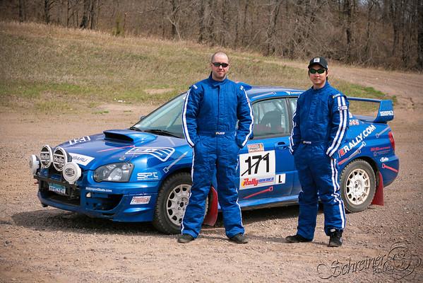 Ziptie Rally Practice 4/25/09 shot by Adam Schreiner