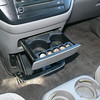 Two more cup holders, Coin slots.