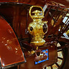 1907 Pierce Great Arrow (65Q) / Touring. The tail light is an oil lamp. You can see two adjusting knobs for the wick.