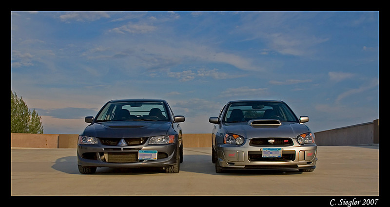 evo and sti
