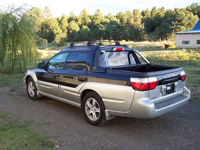 The new Subaru at home!