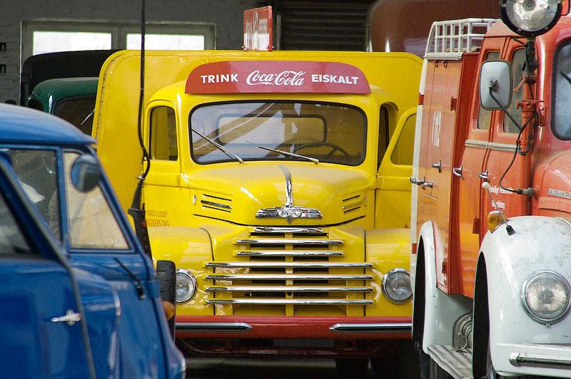 Coca cola lorry