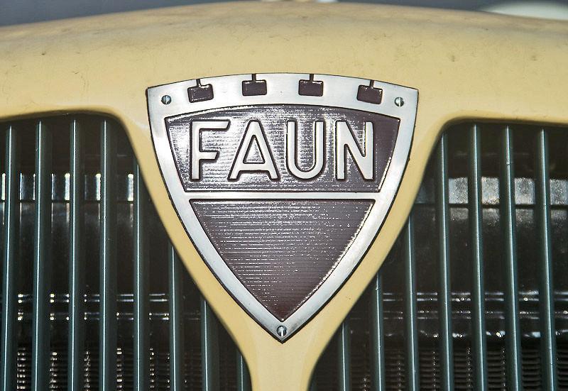 Faun lorry (detail)